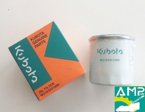 Kubota Genuine Oil Filter  B2350, B1241, B1181, B1121 Part Number W21ESO1500